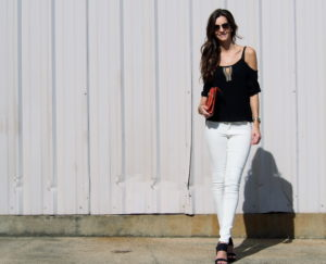white-jeans my view in heels