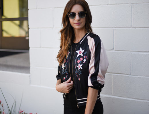 top satin embroidered jackets