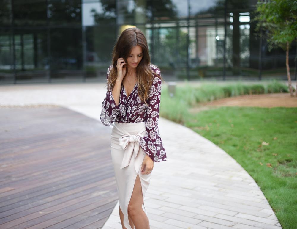 Bell Sleeve Body Suit