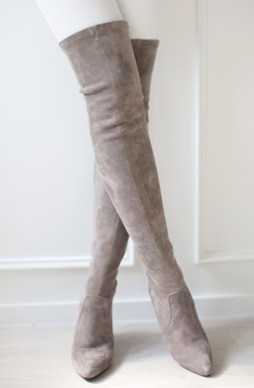e3c040d9f42 Over The Knee Boots for Slim Legs- My View In Heels