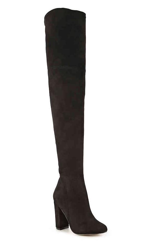 OTK boots for slim legs