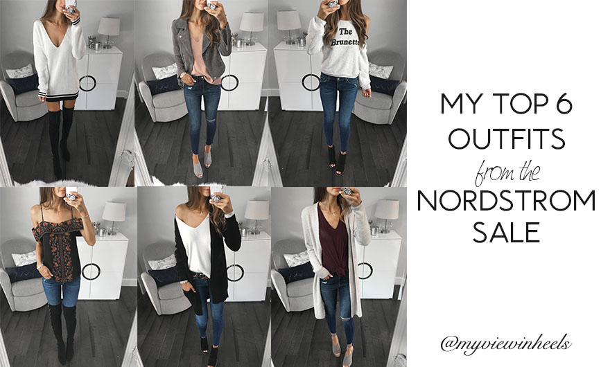 My Top 6 Outfits from the Nordstrom Anniversary Sale!
