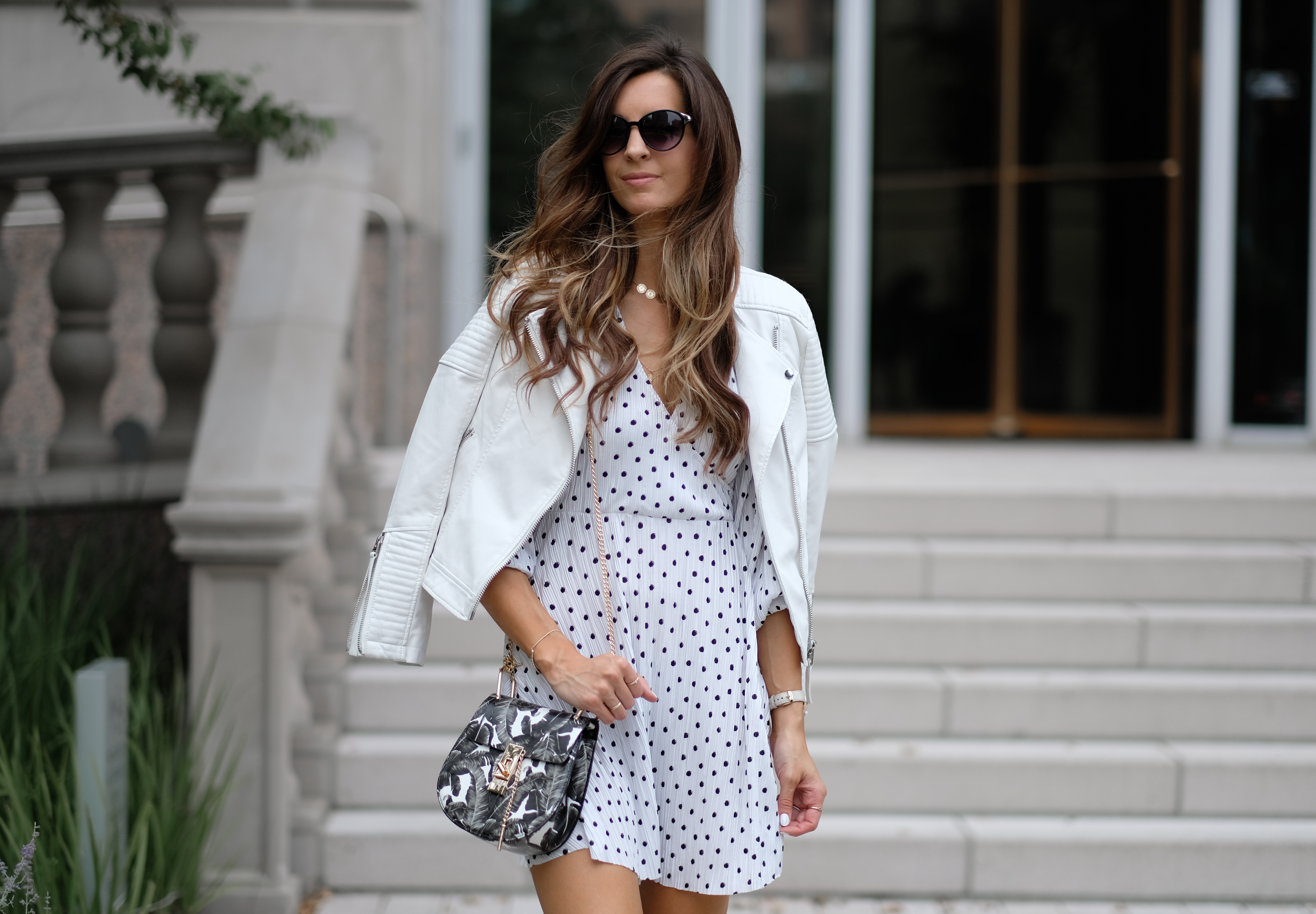 Studded Boots and Polka Dots