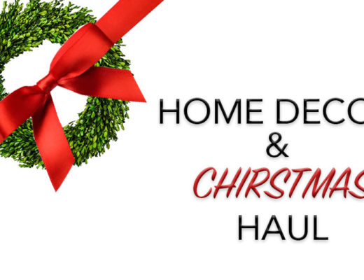 home decor and christmas haul